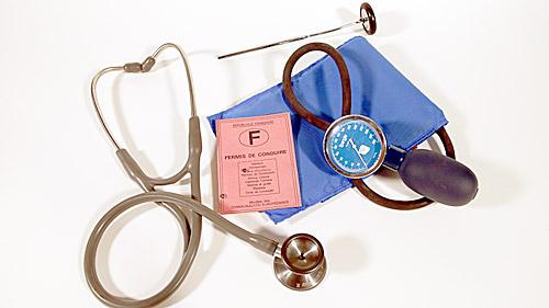 Conduite sur ordonnance : Tous à la visite médicale