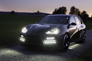 Phares tournants de Porsche Cayenne