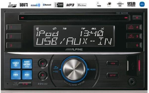 autoradio multimedia alpine